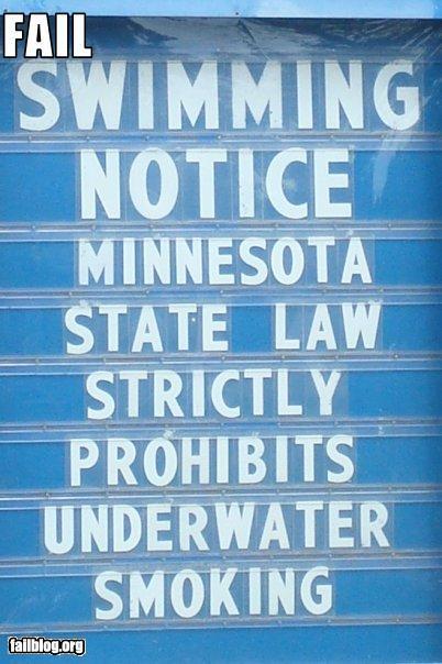 Fail-owned-underwater-smoking-fail